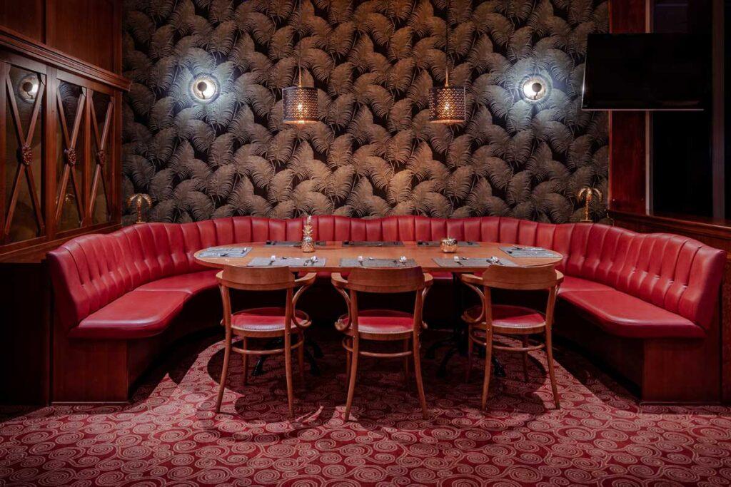 Restaurant-Sitzecke